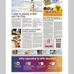 Straits Time – 27 August