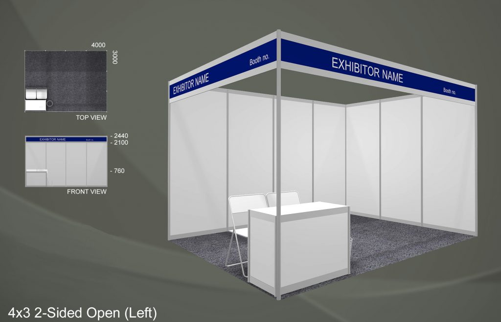 Exhibition Booth Standard Shell Scheme : For exhibitors u2013 singapore food shows